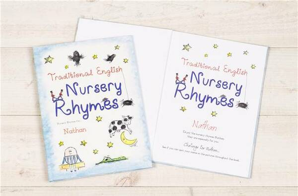 Personalized Book of Classic Nursery Rhymes