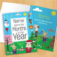 Personalized Months of the Year Book