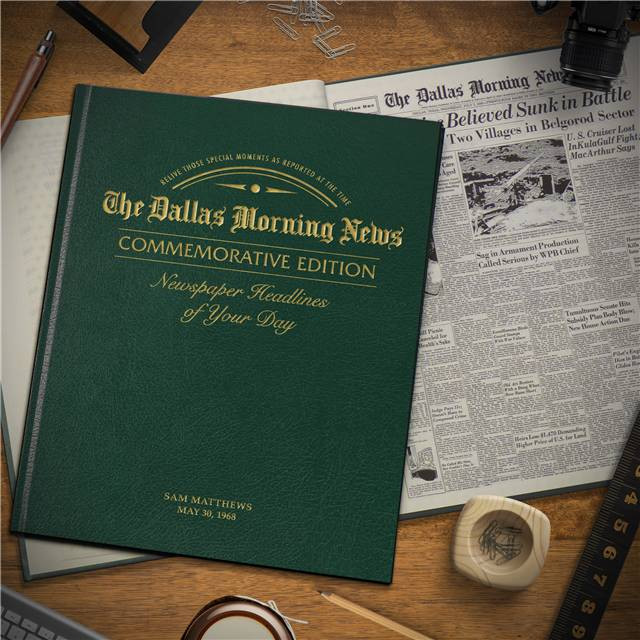 Dallas Morning News Edition