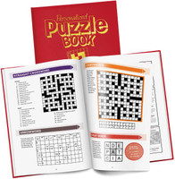 Personalized Puzzle Book for Grown Ups