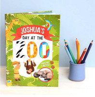 Personalized Day at the Zoo Book
