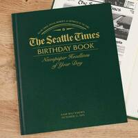 Seattle Times Birthday Newspaper