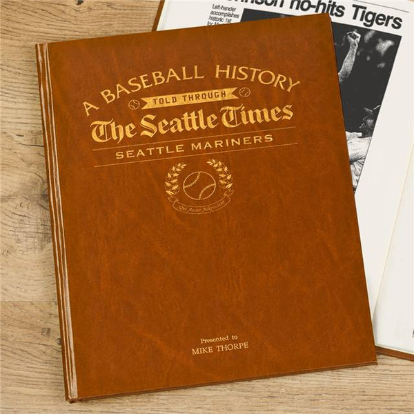 Seattle Mariners - Personalized Team Book