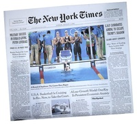 New York Times Birthday Newspaper