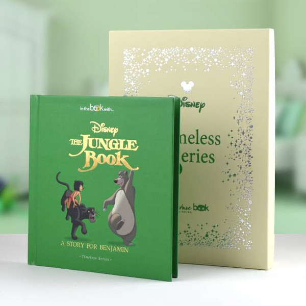 The Jungle Book shown with the free Gift Box