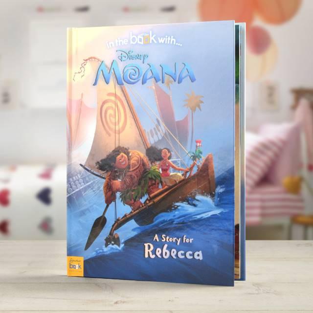 Moana - Personalized Disney Book