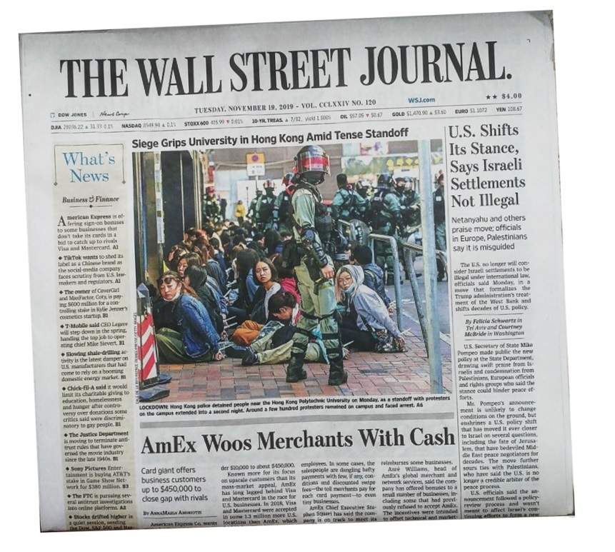 The Wall Street Journal Newspaper original and authentic