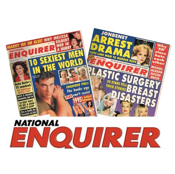 National Enquirer - Unique Retro Birthday Gift