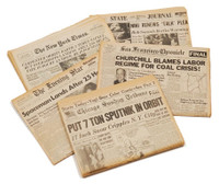 Vintage Newspaper from Any Date