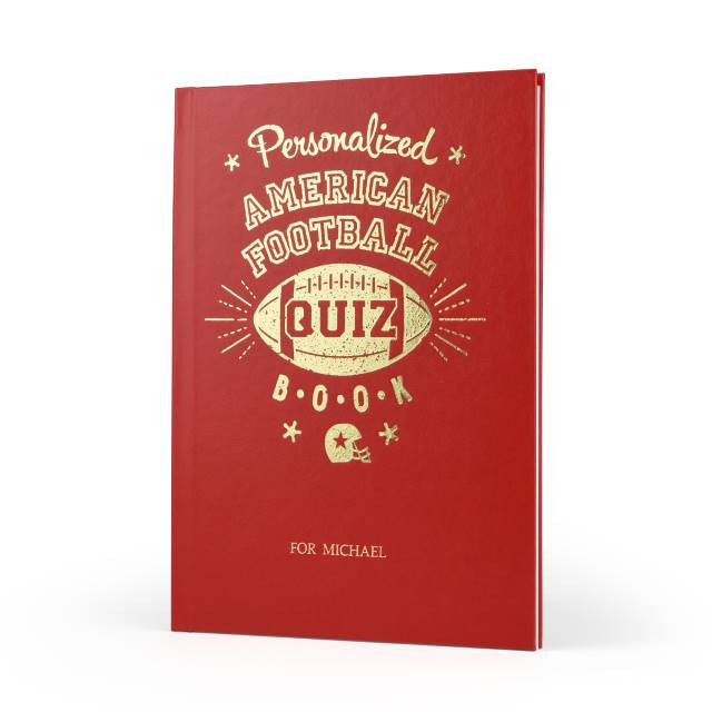 Football Quiz Book for NFL Fans