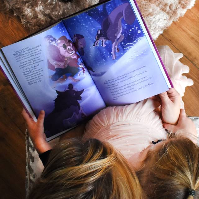 Personalized Disney Beauty and the Beast Story Book