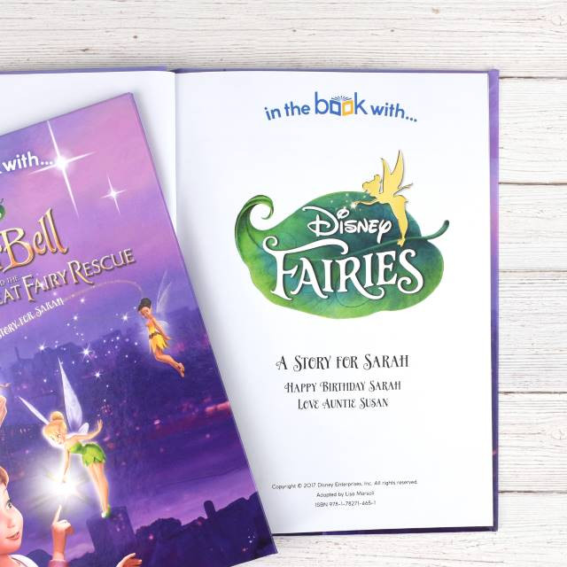 Personalized Disney Fairies Story Book