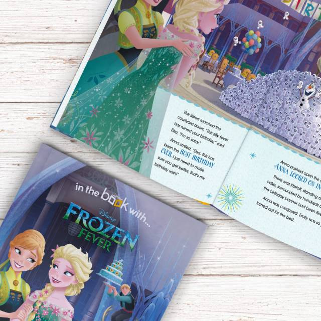 Personalized Disney Frozen Fever Story Book