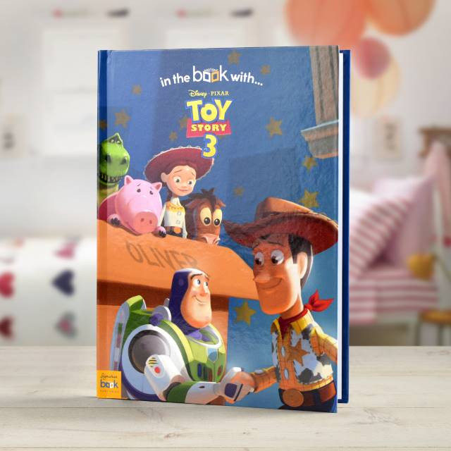 Personalized Disney Toy Story 3 Storybook