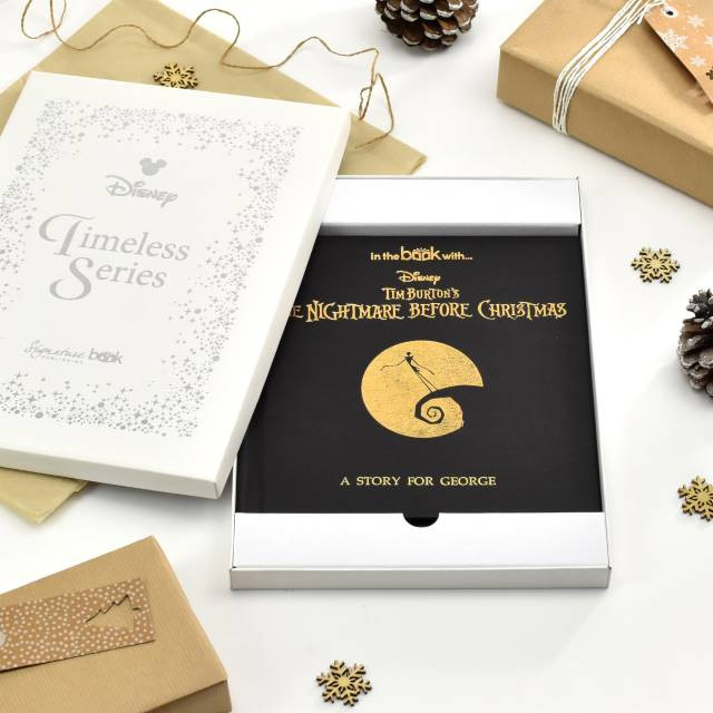 Personalized Nightmare Before Christmas Story Book