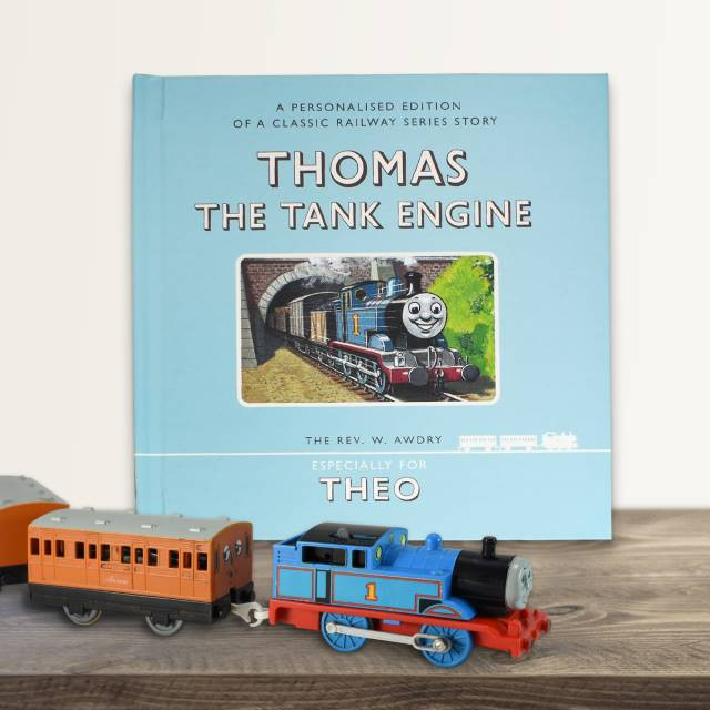 Thomas the Tank Engine's First Ever Story - Personalized Edition