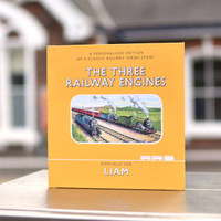 Three Railway Engines - Personalized Edition