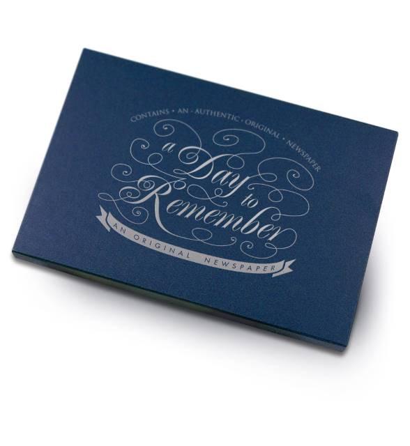 Elegant Blue Gift Box