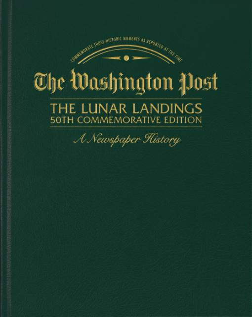 The Cover - Lunar Landings - Washington Post Commemorative Edition