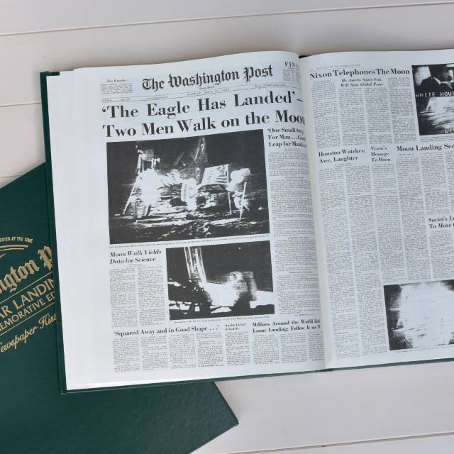 Internal pages - Lunar Landings - Washington Post Commemorative Edition