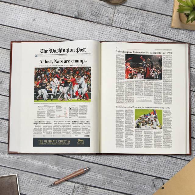 Washington Nationals - Personalized Team Book