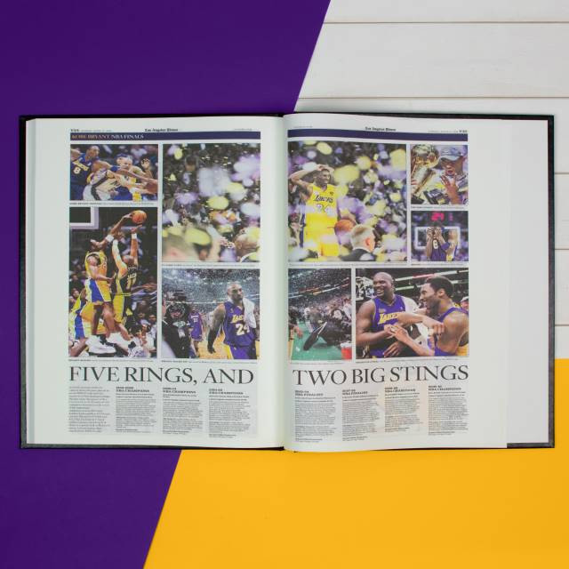 Coverage spanning decades of the Laker's Kobe Bryant