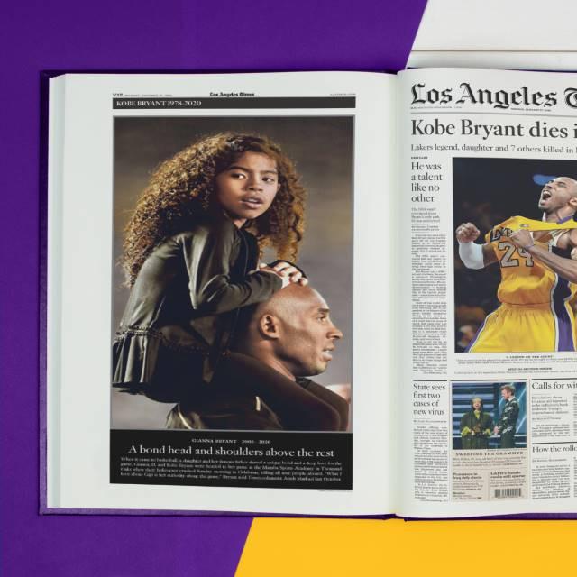 Kobe Bryant Newspaper Tribute