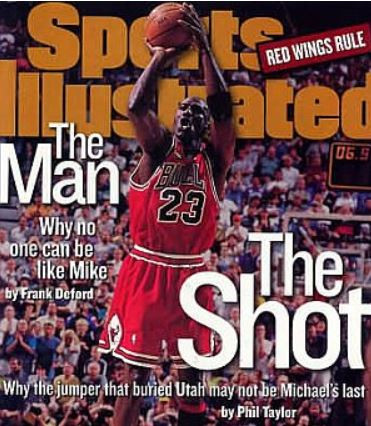 Michael Jordan's Last Shot - Original Sports Illustrated