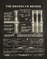 Technical Drawing - Brooklyn Bridge