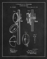 Technical Patent Drawing - Fishing Reel