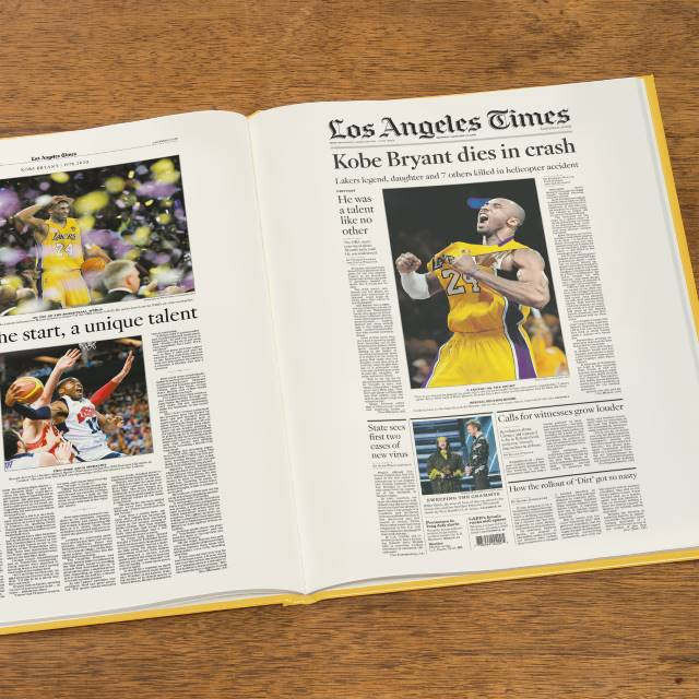 Historic coverage of Kobe Bryant's remarkable career