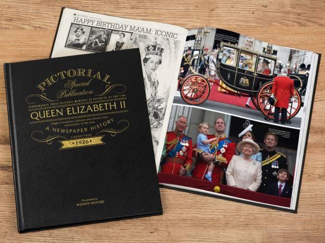 Queen Elizabeth Pictorial Newspaper Book