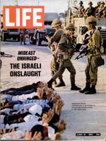 LIFE Magazine - June 16, 1967 - The Israeli Onslaught (Six Day War)