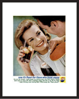 LIFE Magazine - Framed Original Ad - 1962 Pepsi Ad