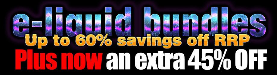e-liquids discounts