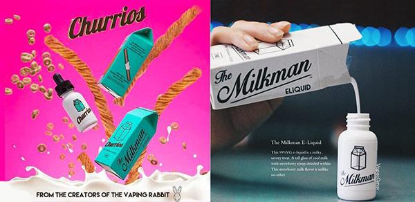 the Milkman e-liquids UK