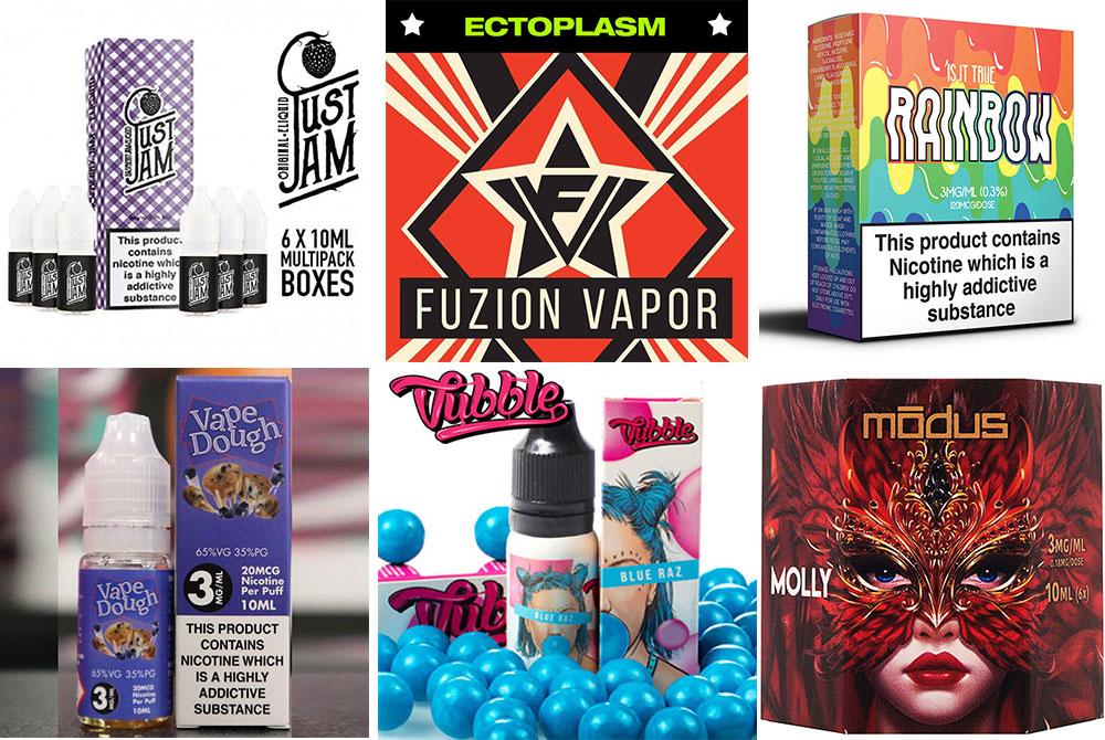 new TPD compliant e-liquids