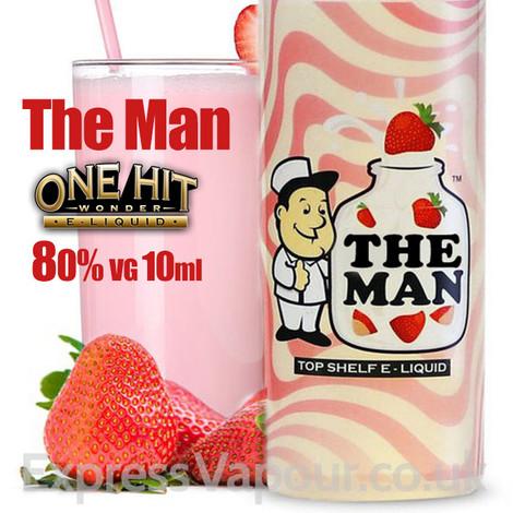 The Man - One Hit Wonder e-liquid - 80% VG - 10ml