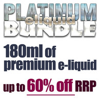 PLATINUM eliquid bundle - 180ml
