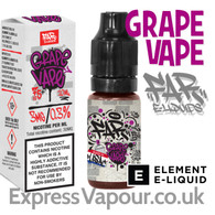 Grape Vape - Far e-liquids by ELEMENT - 75% VG - 10ml