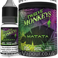 MATATA - Twelve Monkeys e-liquid - 80% VG - 30ml
