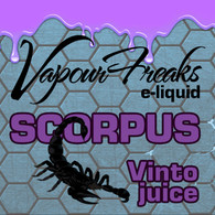 SCORPUS e-liquid by Vapour Freaks - 70% VG - 40ml