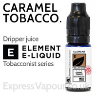 Caramel Tobacco - ELEMENT 80% VG e-Liquid - 10ml