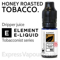 Honey Roasted Tobacco - ELEMENT 80% VG e-Liquid - 10ml