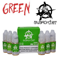 Green - Anarchist e-liquid - 75% VG - 60ml