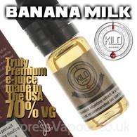BANANA MILK - by KILO e-liquid - 70% VG - 30ml
