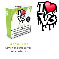 Neon Lime by I LOVE VG e-liquid - 70% VG - 30ml