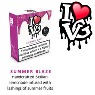 Summer Blaze by I LOVE VG e-liquid - 70% VG - 30ml