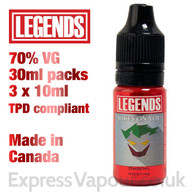 Jokes On You - LEGENDS e-liquid - 70% VG - 30ml