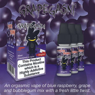 Grapegasm Psycho Bunny by ECO VAPE - 75% VG - 30ml